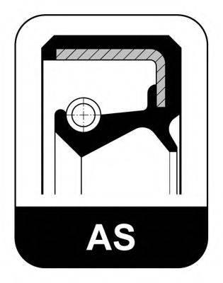Уплотнительное кольцо; Уплотняющее кольцо вала, рулевой механизм ELRING 007.544