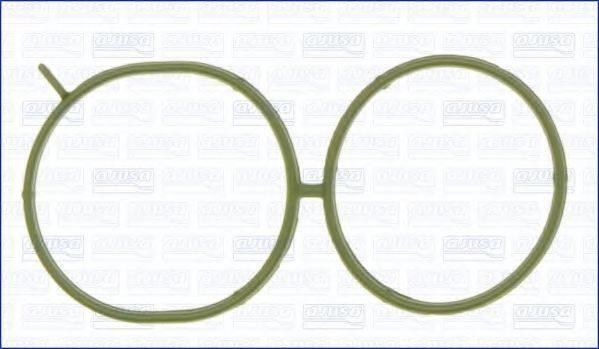 Прокладка, впускной коллектор; Прокладка AJUSA 00962100