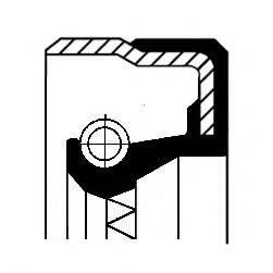 Уплотняющее кольцо, дифференциал CORTECO 01019475B