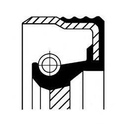 Уплотняющее кольцо вала, автоматическая коробка передач CORTECO 01020122B