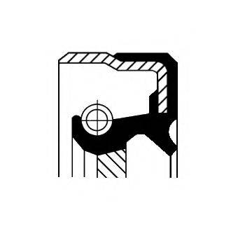 Уплотняющее кольцо, раздаточная коробка CORTECO 01034110B