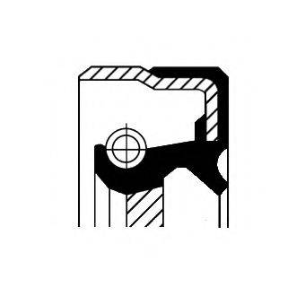 Уплотняющее кольцо, дифференциал CORTECO 01025661B