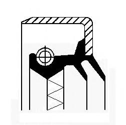 Уплотняющее кольцо, дифференциал CORTECO 01016915B