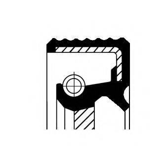 Уплотняющее кольцо, ступенчатая коробка передач CORTECO 01034079B