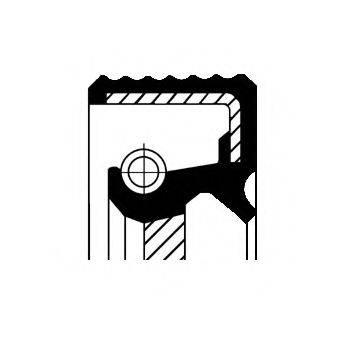 Уплотняющее кольцо, ступенчатая коробка передач; Уплотняющее кольцо вала, автоматическая коробка передач CORTECO 01030101B