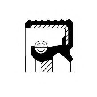 Уплотняющее кольцо, дифференциал CORTECO 01027945B
