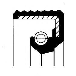 Уплотнительное кольцо CORTECO 01012588B
