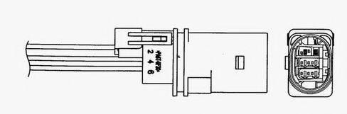 Лямбда-зонд NGK 0028
