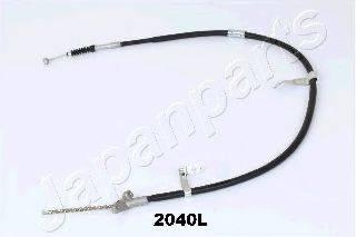Трос, стояночная тормозная система JAPANPARTS BC-2040L