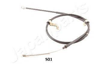 Трос, стояночная тормозная система JAPANPARTS BC-501