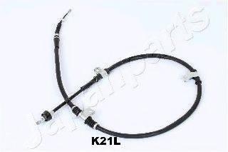 Трос, стояночная тормозная система JAPANPARTS BC-K21L