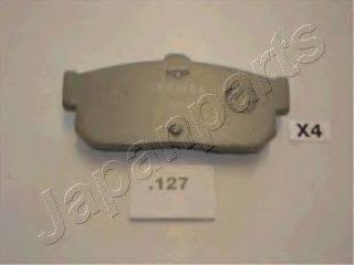 Комплект тормозных колодок, дисковый тормоз JAPANPARTS PP-127AF