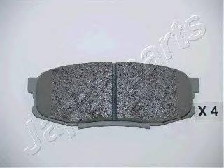 Комплект тормозных колодок, дисковый тормоз JAPANPARTS PP-221AF
