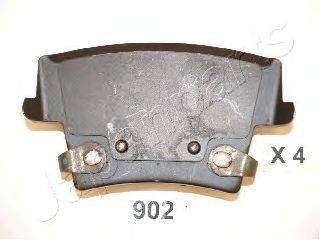 Комплект тормозных колодок, дисковый тормоз JAPANPARTS PP-902AF
