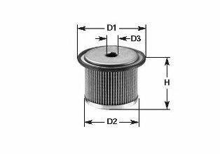 Топливный фильтр CLEAN FILTERS MG 095