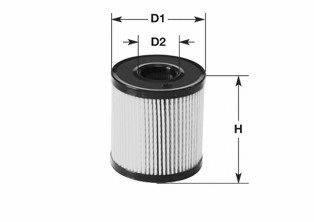 Топливный фильтр CLEAN FILTERS MG1652