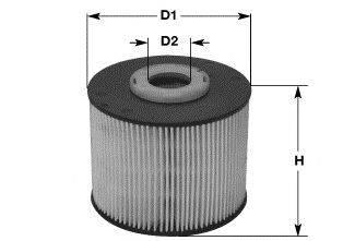Топливный фильтр CLEAN FILTERS MG1666