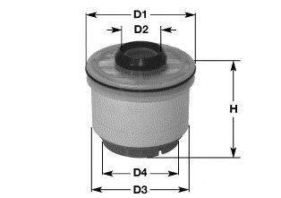 Топливный фильтр CLEAN FILTERS MG1667