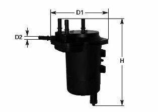 Топливный фильтр CLEAN FILTERS MGC1682