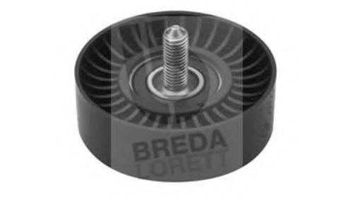 Паразитный / ведущий ролик, поликлиновой ремень BREDA LORETT POA3412