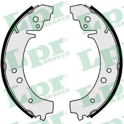 Комплект тормозных колодок LPR 00730