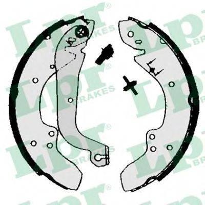 Комплект тормозных колодок LPR 00930