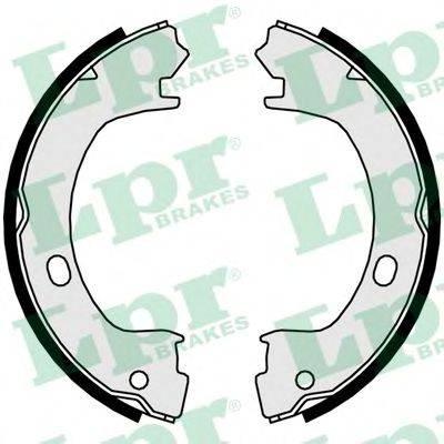 Комплект тормозных колодок, стояночная тормозная система LPR 01015