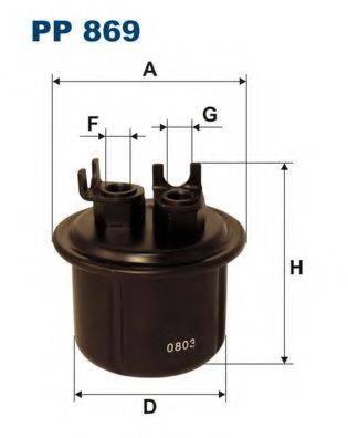 Топливный фильтр FILTRON PP869