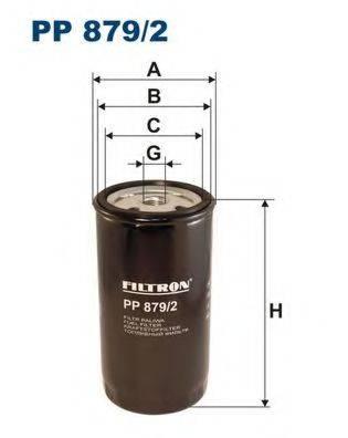 Топливный фильтр FILTRON PP879/2
