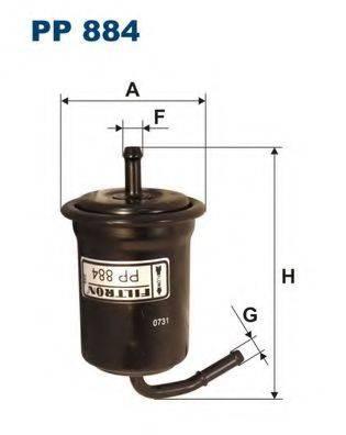 Топливный фильтр FILTRON PP884