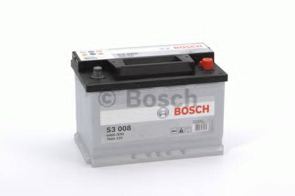 Стартерная аккумуляторная батарея; Стартерная аккумуляторная батарея BOSCH 0 092 S30 080