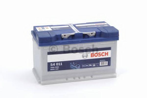 Стартерная аккумуляторная батарея; Стартерная аккумуляторная батарея BOSCH 0 092 S40 110