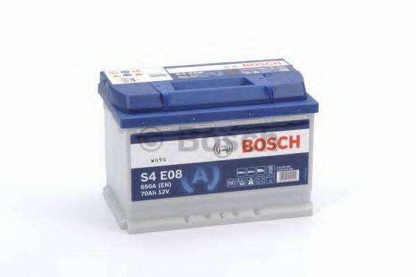 Стартерная аккумуляторная батарея; Стартерная аккумуляторная батарея BOSCH 0 092 S4E 080