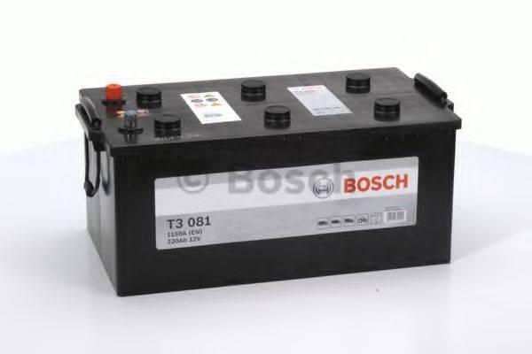 Стартерная аккумуляторная батарея; Стартерная аккумуляторная батарея BOSCH 0 092 T30 810