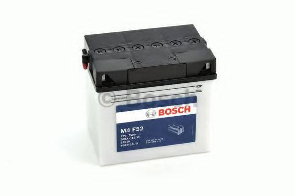 Стартерная аккумуляторная батарея; Стартерная аккумуляторная батарея BOSCH 0 092 M4F 520