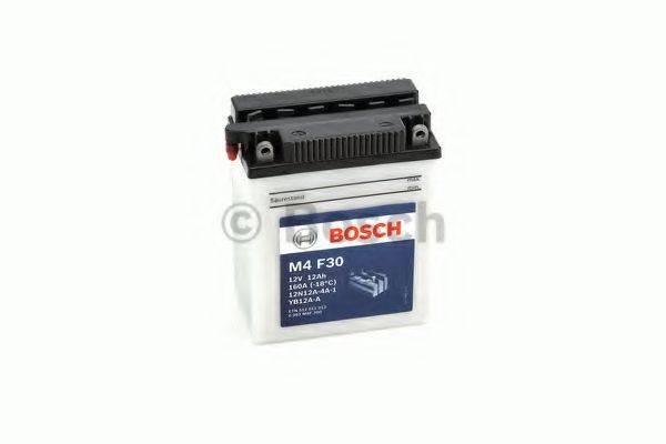 Стартерная аккумуляторная батарея; Стартерная аккумуляторная батарея BOSCH 0 092 M4F 300