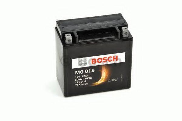 Стартерная аккумуляторная батарея; Стартерная аккумуляторная батарея BOSCH 0 092 M60 180