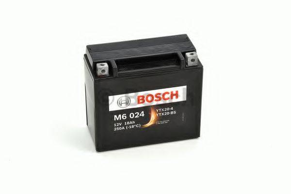 Стартерная аккумуляторная батарея; Стартерная аккумуляторная батарея BOSCH 0 092 M60 240
