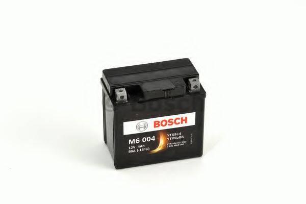 Стартерная аккумуляторная батарея; Стартерная аккумуляторная батарея BOSCH 0 092 M60 040