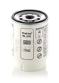 Топливный фильтр MANN-FILTER PL 270 x