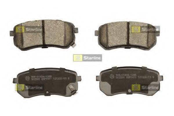 Комплект тормозных колодок, дисковый тормоз STARLINE BD S450