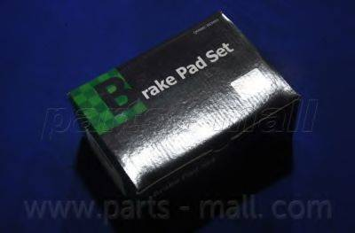 Комплект тормозных колодок, дисковый тормоз PARTS-MALL PKC-028