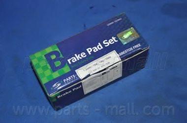 Комплект тормозных колодок, дисковый тормоз PARTS-MALL PKG-E07