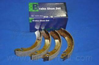 Комплект тормозных колодок PARTS-MALL PLA-006
