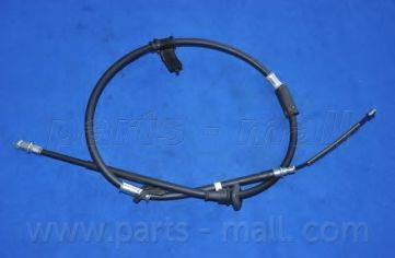 Трос, стояночная тормозная система PARTS-MALL PTA-096