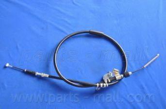 Трос, стояночная тормозная система PARTS-MALL PTA-109