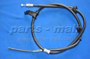 Трос, стояночная тормозная система PARTS-MALL PTA-118