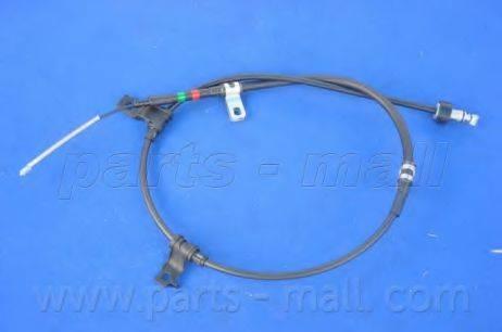 Трос, стояночная тормозная система PARTS-MALL PTA-180