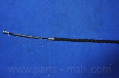 Трос, стояночная тормозная система PARTS-MALL PTA-277
