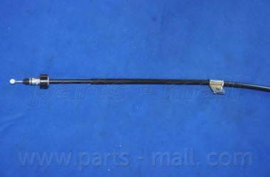 Трос, стояночная тормозная система PARTS-MALL PTA-281